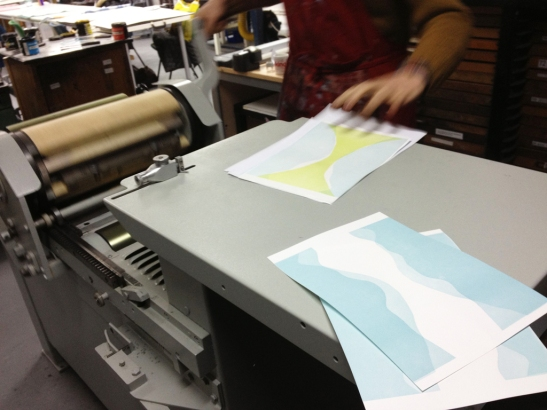 tests on the press